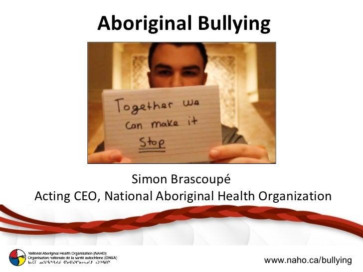 Aboriginal Bullying