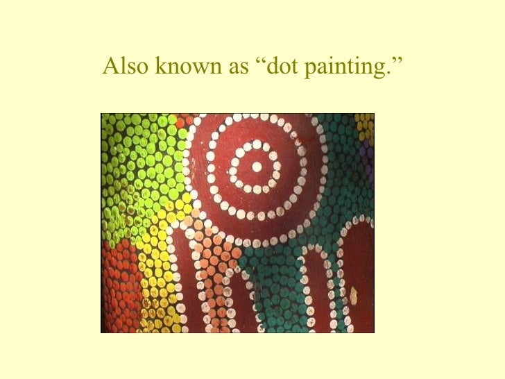 Aboriginal Painting Powerpoint