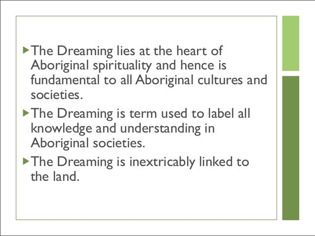 effect of dispossession on aboriginal spiritualities religion essay Home » publications » recognition of aboriginal customary laws  and justice acts of dispossession,  weh stanner, 'religion, totemism and symbolism' (1962.