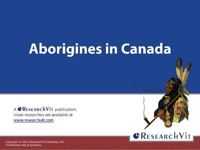 Aborigines in Canada