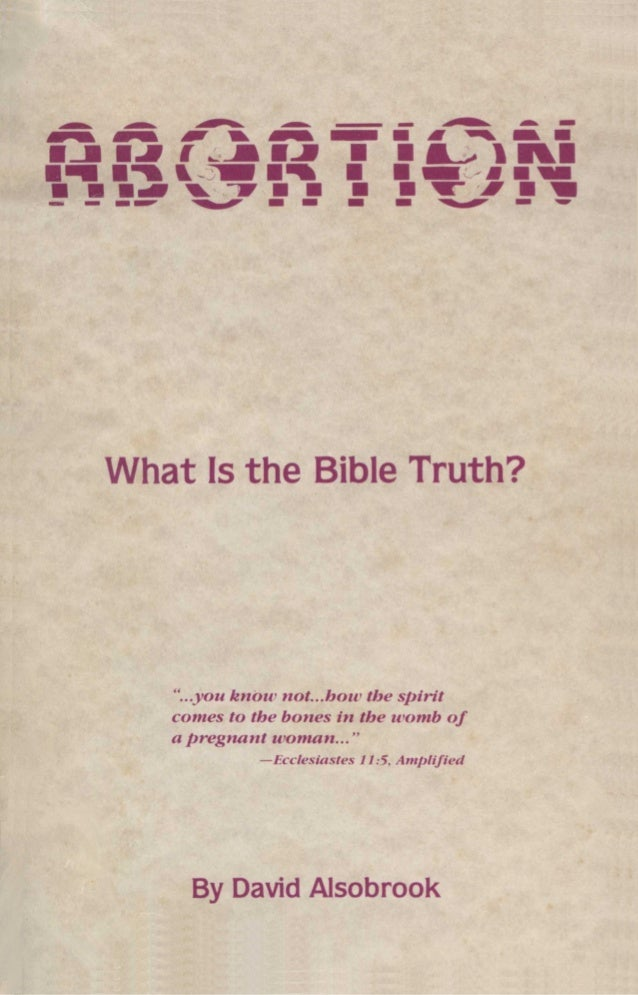THE BIBLE TRUTH ON Do you hove bloody hands or a bleeding heart? By David Alsobrook