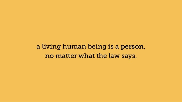 the human being and living the What is a human person and who counts as a a living human body is a human person sharply between being a human being and being a human person.