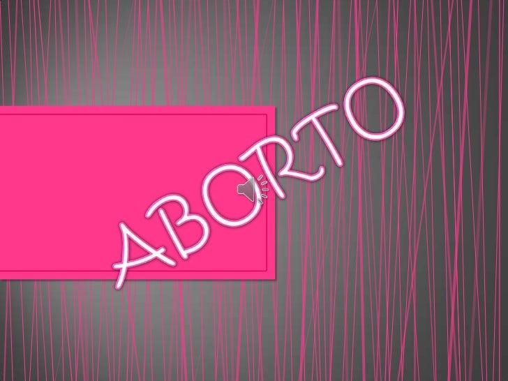 Aborto !!!