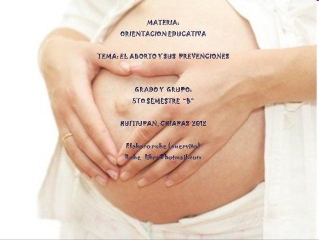 Desde el punto de vista legal, aborto, es la interrupción delembarazo en cualquier época de la gestación antes de que el f...