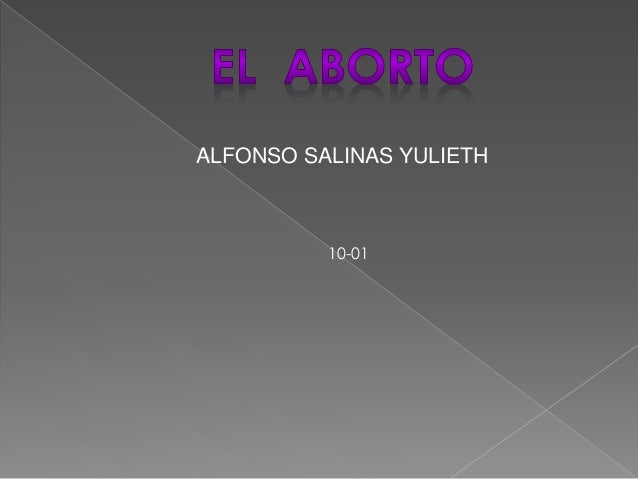 ALFONSO SALINAS YULIETH 10-01