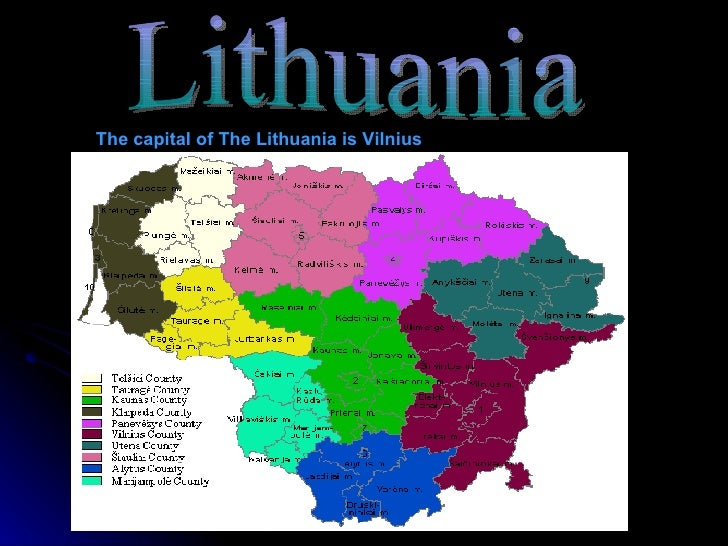About Lithuania Loretas Speaking