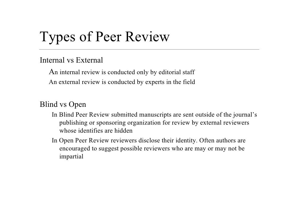 Peer review: how to get it right – 10 tips
