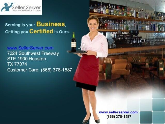 www.SellerServer.com7324 Southwest FreewaySTE 1900 HoustonTX 77074Customer Care: (866) 378-1587                           ...