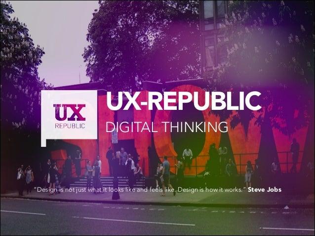 About UX by UX-REPUBLIC Paris