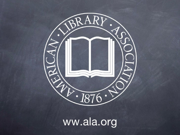 Top Ten Reasons to Join ALA