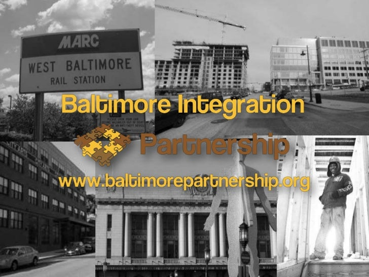 About the Baltimore Integration Partnership