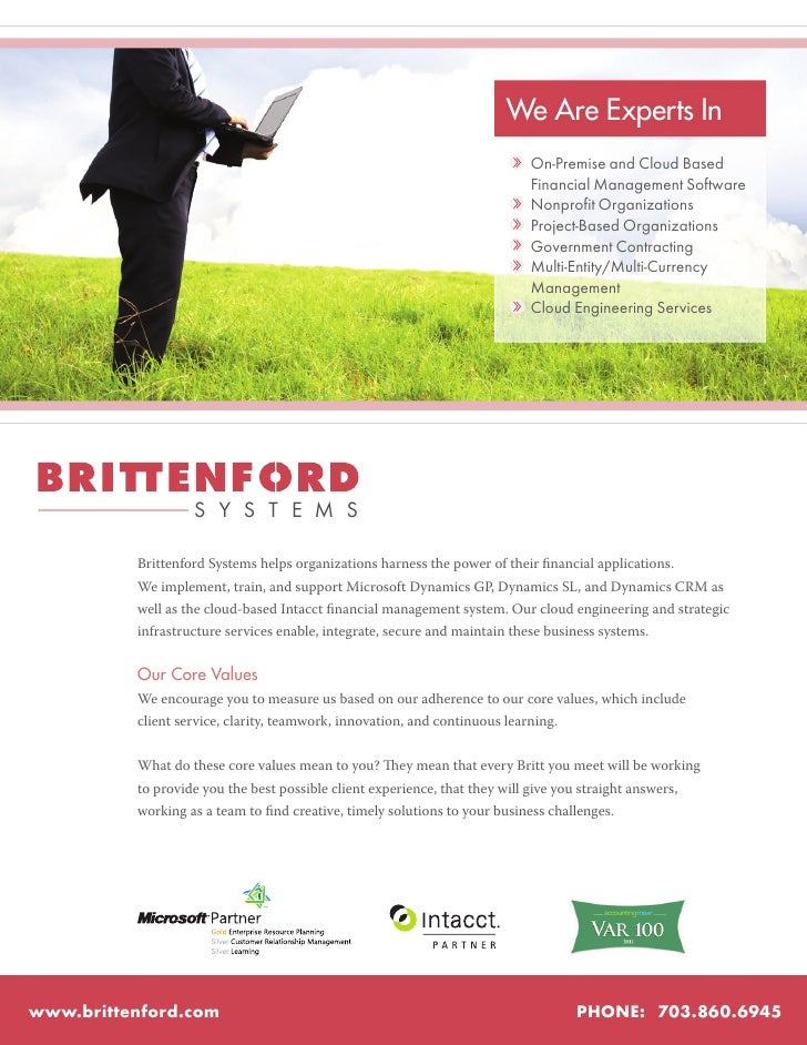 About Brittenford Systems