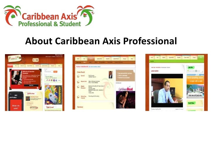 About Caribbean Axis Professional<br />