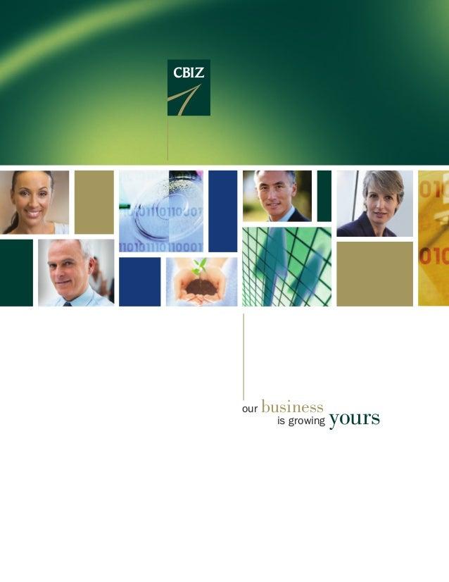CBIZ Inc. - Our Services