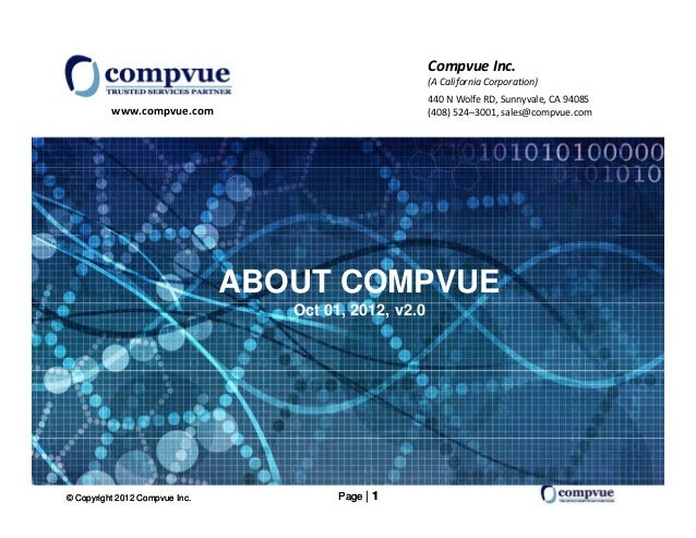 About Compvue Oct 01 2012 V2