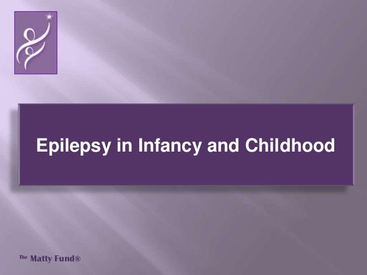 About epilepsy - The Matty Fund