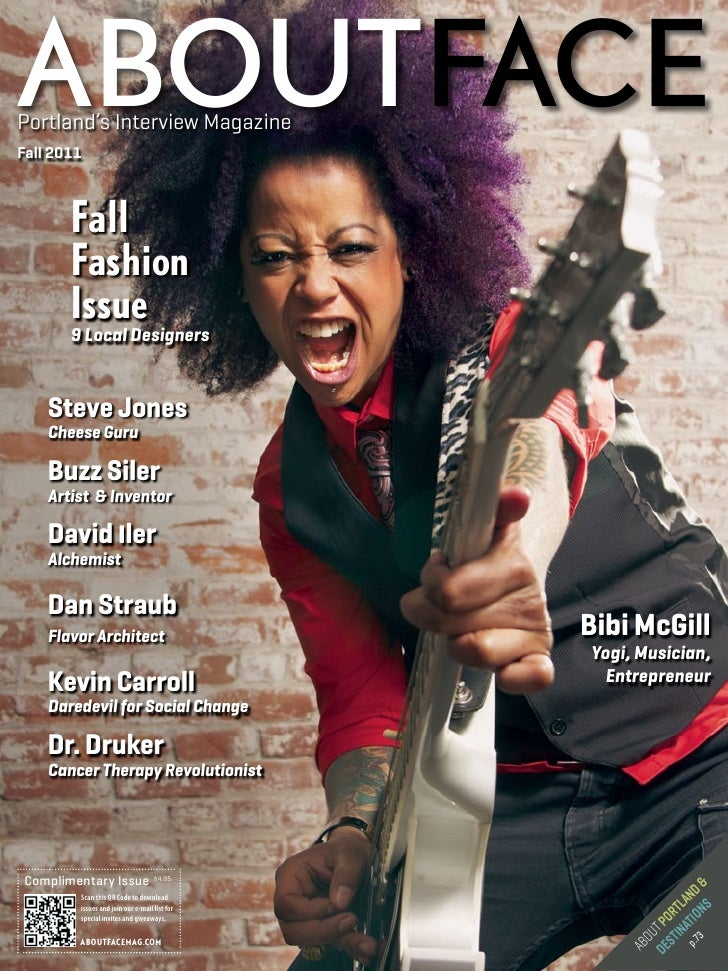 ABOUTFACEPortland's Interview MagazineFall 2011       Fall       Fashion       Issue       9 Local Designers    Steve Jone...