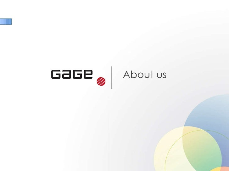 About Gage Marketing