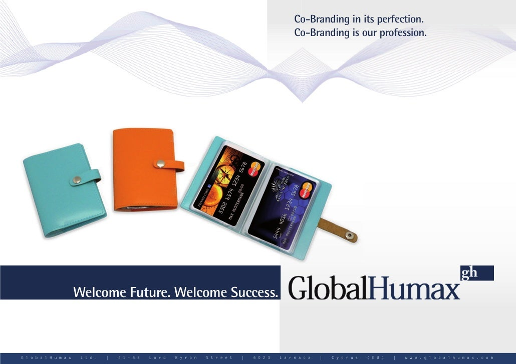 GlobalHumax Cobranding Prepaid Kreditkarte MasterCard - prepaid creditcard MasterCard