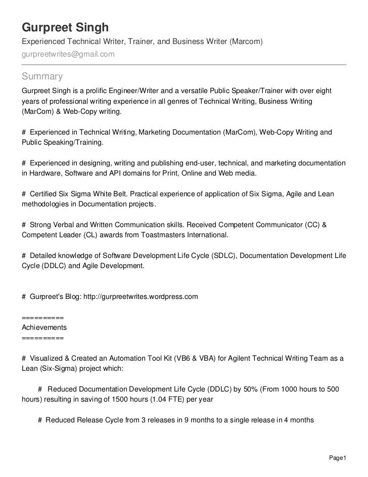 Gurpreet SinghExperienced Technical Writer, Trainer, and Business Writer (Marcom)gurpreetwrites@gmail.comSummaryGurpreet S...