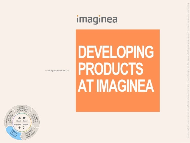 About Imaginea, A Product Engineering company