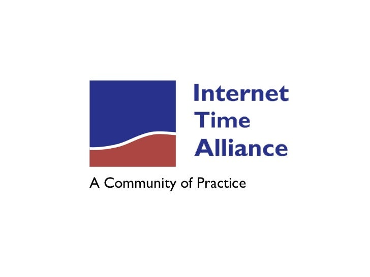 Internet Time Alliance