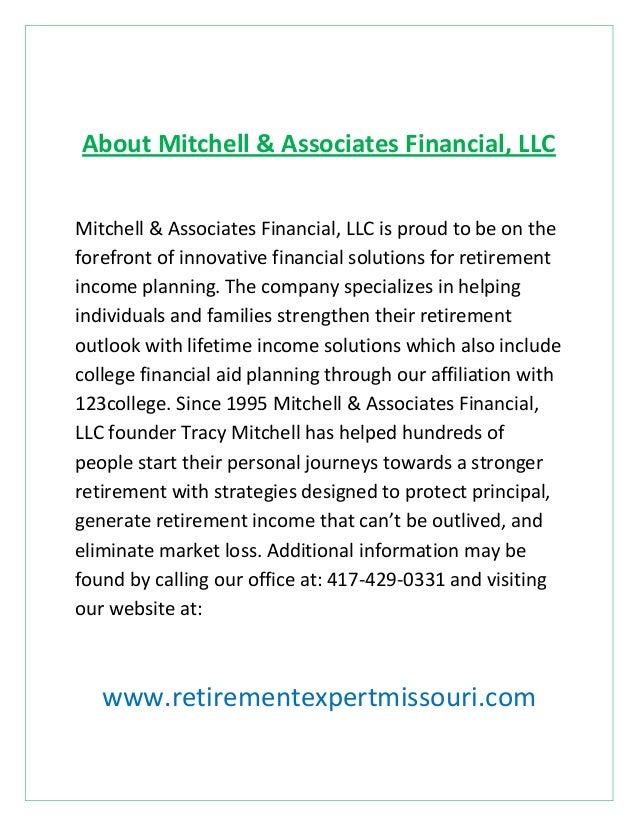 About Mitchell & Associates Financial, LLC