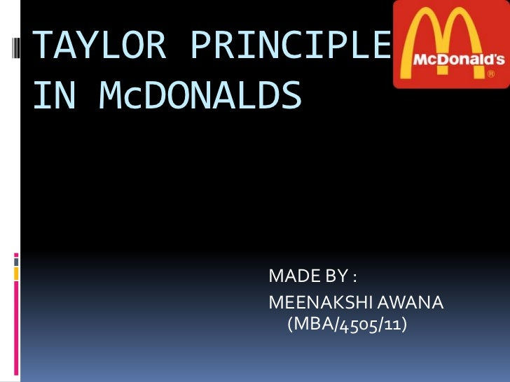 fayols principles of management in mcdonalds Class xii project on fayol principles applied in mcdonald's please do subscribe, like and share the video.