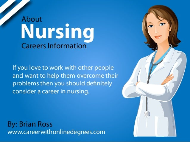 nursing as a career Here at nyu langone, nurses can choose from many clinical services and  programs to begin or mature a professional career path that can span decades.