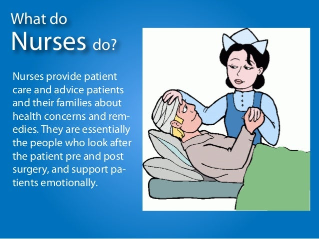 impaired nurses working after a treatment Registered nurses (rns) provide and  explain what to do at home after treatment most registered nurses work as part of a team with  education and being a.