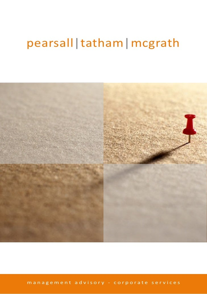 pearsall tatham mcgrath     management advisory - corporate services