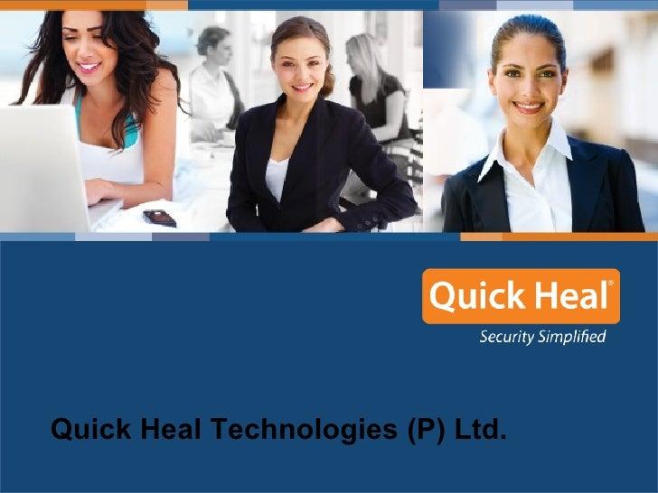 Quick Heal Technologies (P) Ltd.