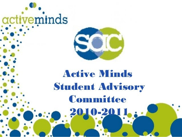Active Minds Student Advisory Committee 2010-2011