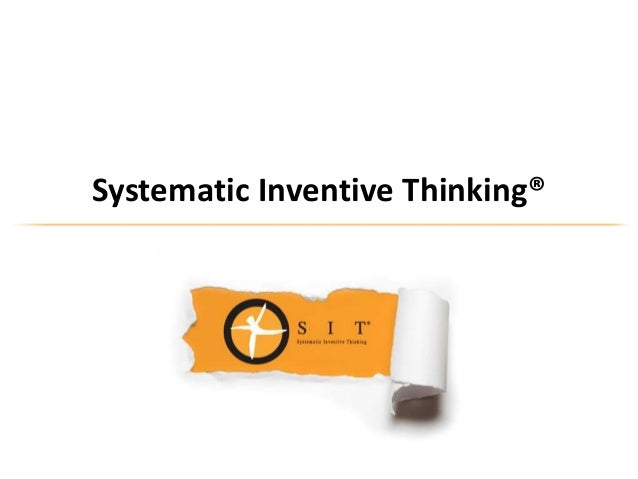 Systematic Inventive Thinking®