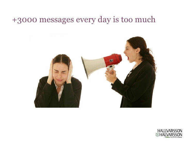 +3000 messages every day is too much