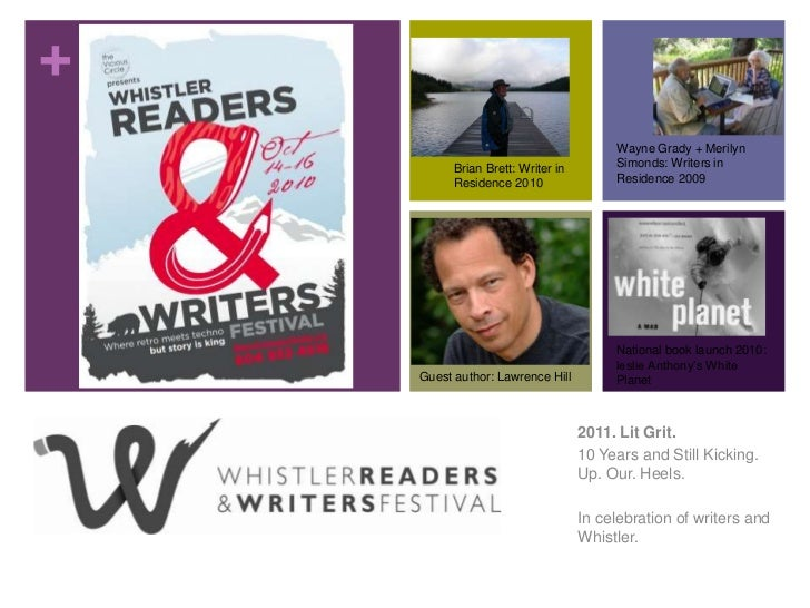 Lit Grit - the Whistler Readers and Writers Festival 10 Years On.