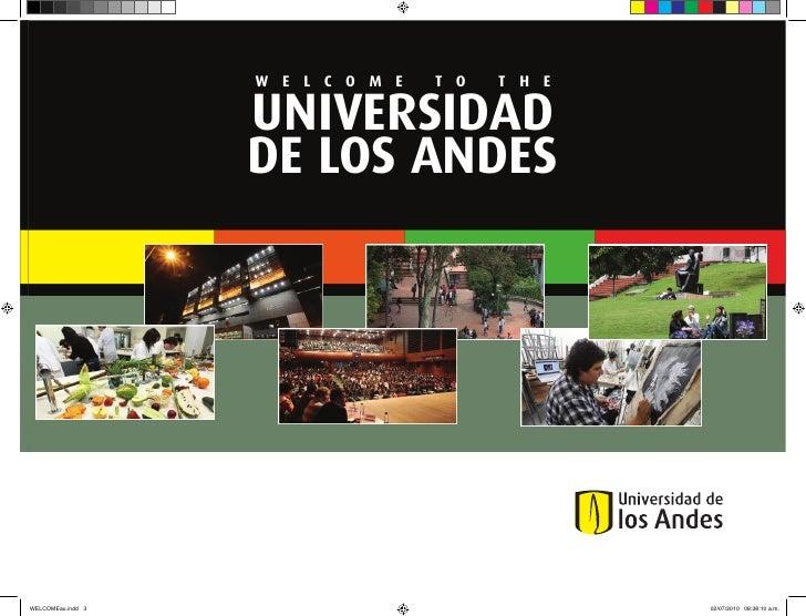 About Universidad de los Andes, Bogota, Colombia