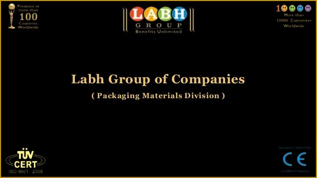 About us ( packaging materials division )