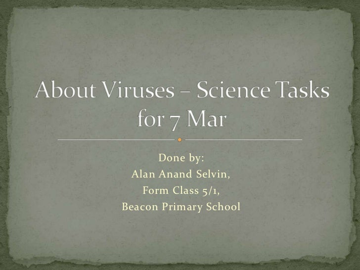 About Viruses - Science Task