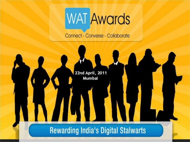 About WAT Awards 2011