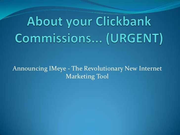 Announcing IMeye - The Revolutionary New Internet                Marketing Tool