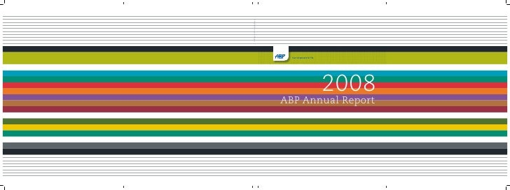 2008 ABP Annual Report