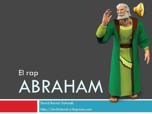 El rap d'Abraham