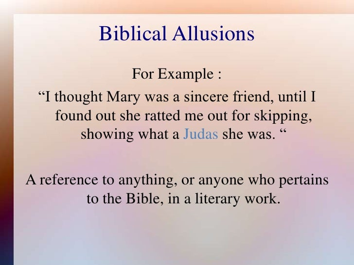 Allusion  Definition of Allusion by MerriamWebster