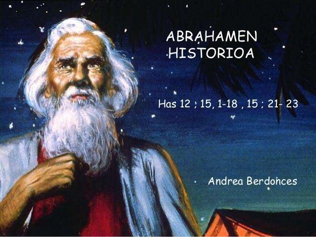 Abrahamen historioa