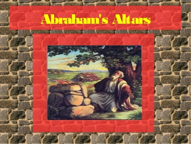 Abrahams altars