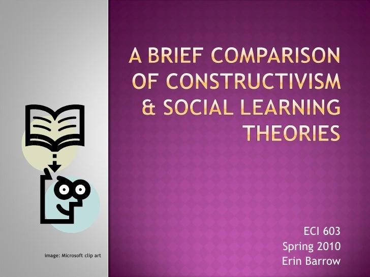A Brief Comparison Of Constructivism & Social Learning V3