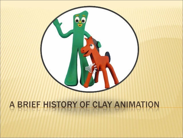 This presentation is only a snapshot of the principle animators involved in the development of clay animation. It all bega...