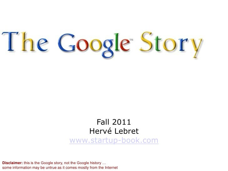 A brief history of google
