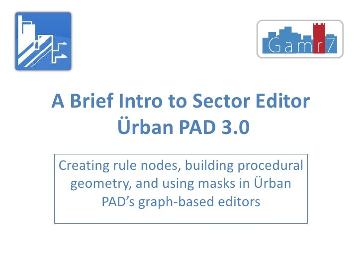 A Brief Intro to Sector Editor